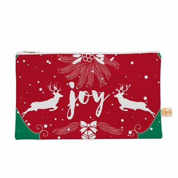 "Famenxt ""Christmas Joy"" Red Green Digital Everything Bag"