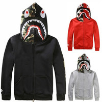 New Fashion Men Jacket Camo FULL ZIP HOODIE Long Sleeve Clothes  [9325954820]