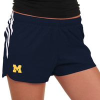 Michigan Wolverines adidas Ladies Ultimate Shorts – Navy Blue