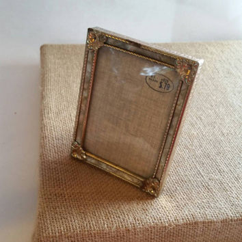 Antique Picture frame | Mother of Pearl | Glass cover | 1940s vintage
