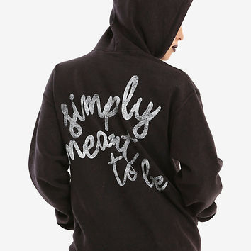 The Nightmare Before Christmas Simply Meant To Be Girls Hoodie