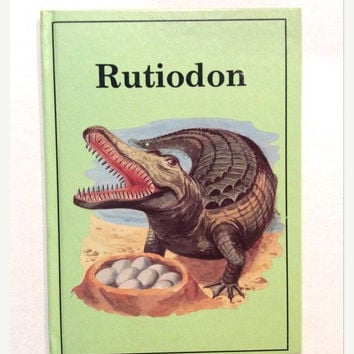 ON SALE Rutidon - Vintage Children's Book - Rourke Enterprises -1989