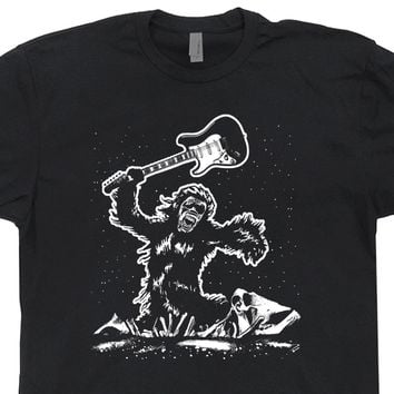 Electric Guitar T Shirt 2001 A Space Odyssey Shirt Cool Vintage Guitar Shirt