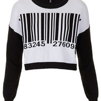 Knitted Barcode Motif Jumper - New In This Week  - New In
