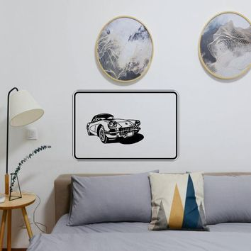 Grease, Gas, & Girls Sign Vinyl Wall Decal - Removable (Indoor)