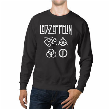 Led Zeppelin Symbols Unisex Sweaters - 54R Sweater