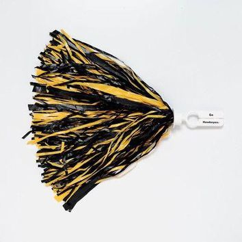 Licensed Iowa Hawkeyes Official NCAA 500 Strand Cheer Pom Pom IU by Wincraft KO_19_1