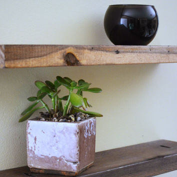 Floating Shelf  - wood floating shelves, decorative shelf, display shelf