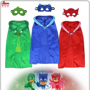 Special L27* P J cape mask cosplay anime costume for child decoration birthday outfit girl dress brand type toys eagle cape