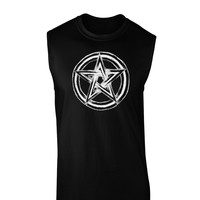 Pentacle Magick Witchcraft Star Dark Muscle Shirt