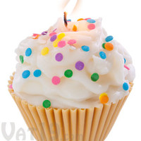 Jumbo Cupcake Candle: Looks and smells like a delicious vanilla cupcake.