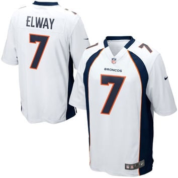 John Elway Denver Broncos Nike Retired Player Game Jersey – White