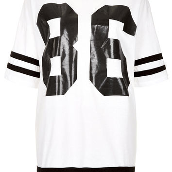 Number 86 Tee - Jersey Tops - Clothing - Topshop
