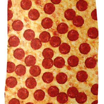 Pizza Fleece Blanket
