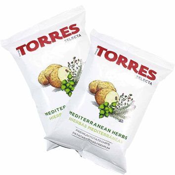 3-Pack Small Bag Torres Mediterranean Herb Potato Chips (1.7 oz. x 3)