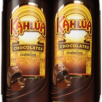 Milk Chocolates Filled with Kahlua Coffee Liquor
