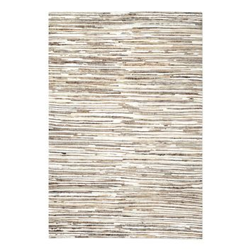 Riviera Ivory Brown 9 X 12 Rug