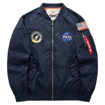 Men's Casual Collar Jacket Jacket Air Force One