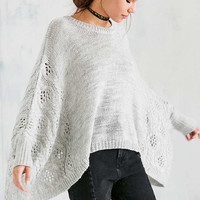BB Dakota Harrow Poncho Sweater - Urban Outfitters