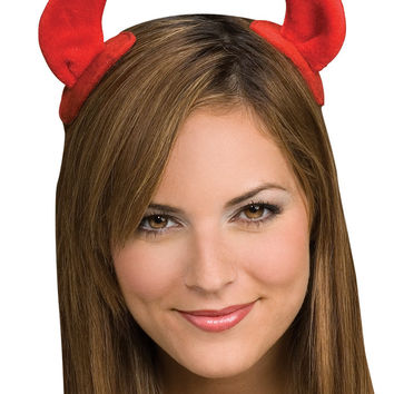 costume kit: devil horns on clips Case of 4