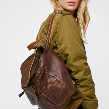 Free People Jennifer Leather Backpack