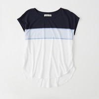 Womens Knit Dolman Tee | Womens New Arrivals | Abercrombie.com