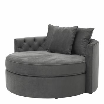 Granite Grey Sofa | Eichholtz Carlita