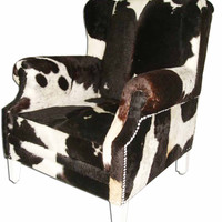 Cowhide Lounge Chair