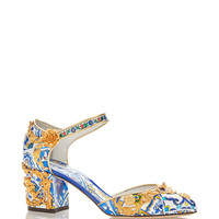Maiolica Ceramic Mary Jane Pumps