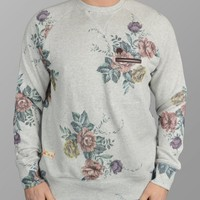 Natural Classic Floral Sweatshirt Marshall Artist