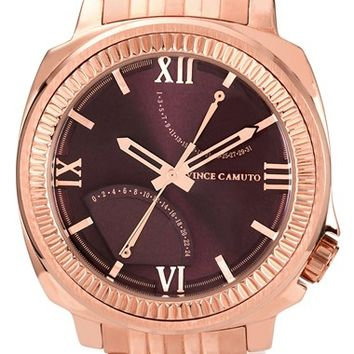 Men's Vince Camuto Flyback Dial Bracelet Watch, 43mm