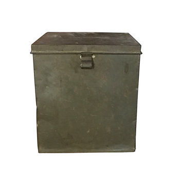 1800s Biscuit Tin, Huge Metal American Biscuit Company Storage Container, Vintage Kitchen, Modern Farmhouse Home Decor