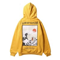 """Law of Nature"" Streetwear Hoody"