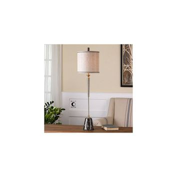 Uttermost Mossano 37.5'' H Buffet Table Lamp with Round Shade
