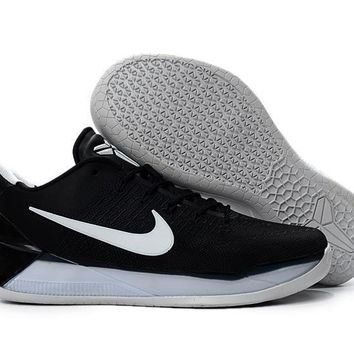 2017 black mamba nike kobe 12 ad all black for sale  number 1
