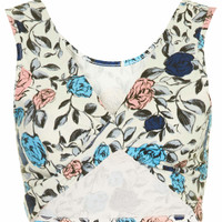 **TWIST BACK CROP TOP BY ANNIE GREENABELLE