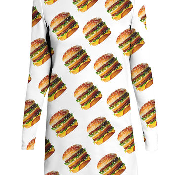 Big Mac Long-Sleeve Dress
