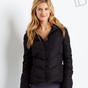 Aeropostale  LLD Solid Puffer Jacket