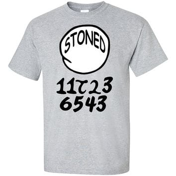 Stoned Pick Your Number T-Shirt