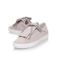 NIB MICHAEL KORS KEATON KILTIE CEMENT SUEDE SNEAKERS SHOES~ MSRP $147 ~ Size 5/6