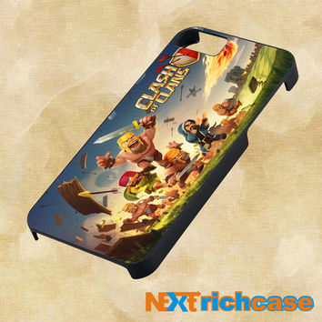 clash of clans game cover For iPhone, iPod, iPad and Samsung Galaxy Case