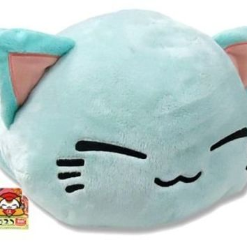 Nemuneko Super Soft Big x Big Plush About 14in. Type-B: Mint Green