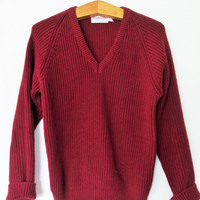 Vintage 1970s McGregor Chunky Knit Sweater