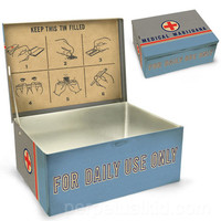 MEDICAL MARIJUANA CIGAR BOX
