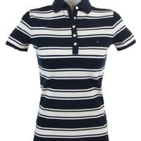 Tommy Hilfiger Slim Fit Womens Logo Polo Shirt $39.99
