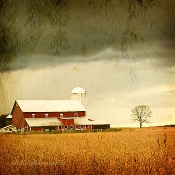 25 OFF SALE Barn Photography  Under an Autumn by ara133photography