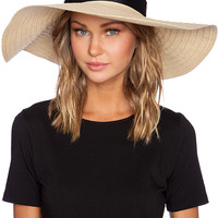 Caffe Hat in Ivory
