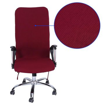 Office Chair Comfortable Seat Slipcovers Computer Chair Covers L/M/S Removable Stretch Rotating Lift Chair Cover