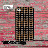Emoji Poop Funny Emoticon Symbol Custom iPhone 4 and 4s Case and Custom iPhone 5 and 5s and 5c Case