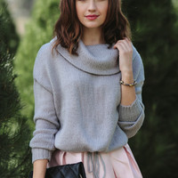 Overcast Mornings Knit Sweater